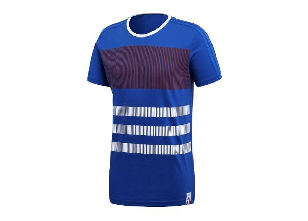 Miesten t-paita adidas France Polo Ci TEE T-shirt M CF1697