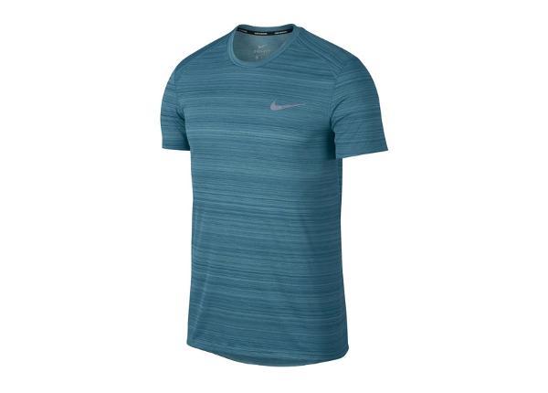 Miesten treenipaita Nike Dry Miler Top SS nv M 891684-407
