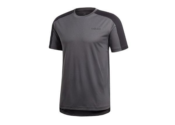 Miesten treenipaita adidas D2M Tee Plain T-shirt M DT3044