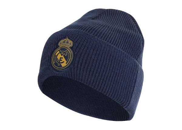 Мужская зимняя шапка adidas Real Madrid Woolie DY7726