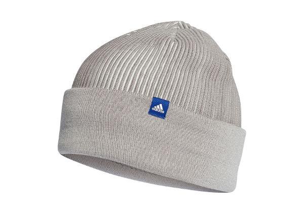 Мужская зимняя шапка adidas Id Climaheat Ribbed Beanie M DJ1213