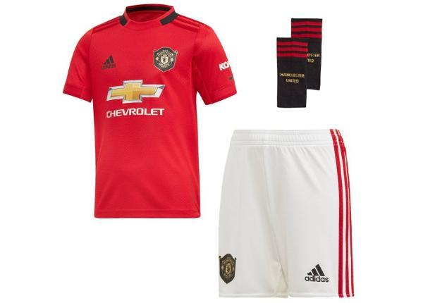 Jalgpalli komplekt lastele adidas Manchester United FC Home Mini JR DX8950