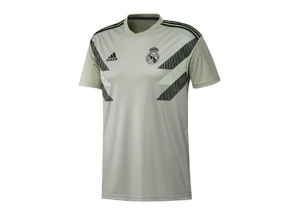 Lasten jalkapallopaita Adidas Real Madrid Preshi T-shirt JR CW5827