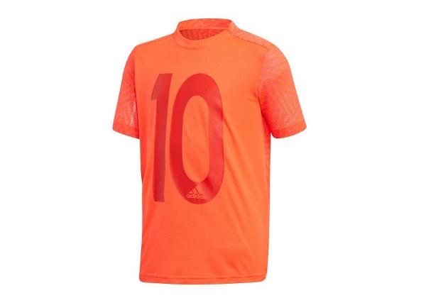 Lasten jalkapallopaita Adidas Messi Icon Jersey T-shirt JR DV1319