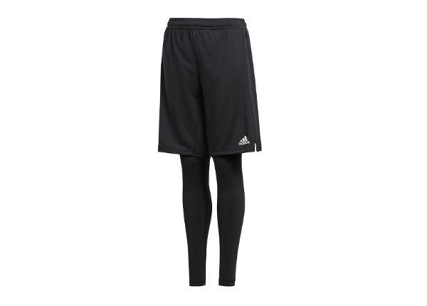 Lasten treenileggingsit/shortsit Adidas Messi Woven Short JR DJ1275