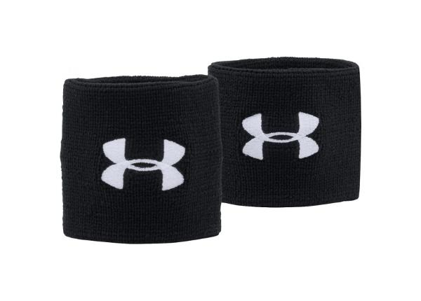 Higipaelte komplekt 2 tk Under Armour Performance Wristband 7,5 cm 1276991-001