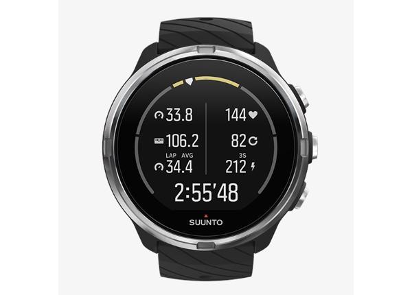 Urheilukello Suunto 9 musta GPS-ga Suunto