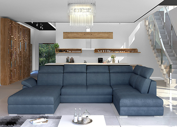 Угловой диван-кровать с ящиком TF-211341