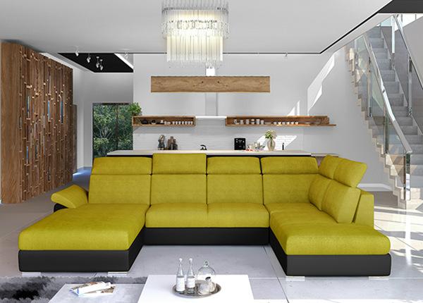 Угловой диван-кровать с ящиком TF-211342