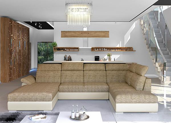 Угловой диван-кровать с ящиком TF-211348