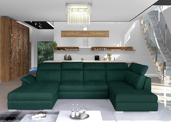 Угловой диван-кровать с ящиком TF-211350