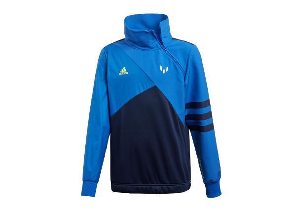 Lasten verryttelytakki Adidas Messi Half Zip Top JR DW5375