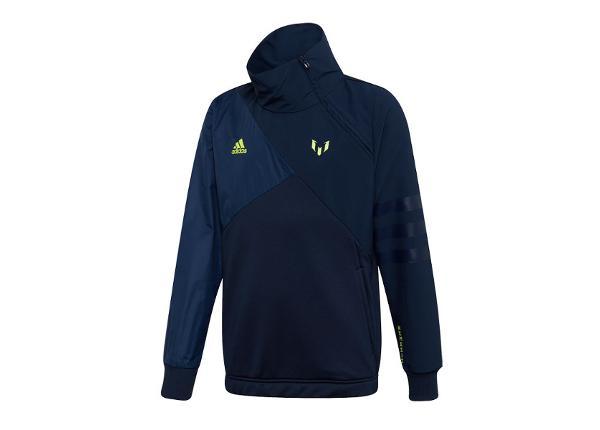 Lasten verryttelytakki Adidas Messi Half Zip Top JR DW5376