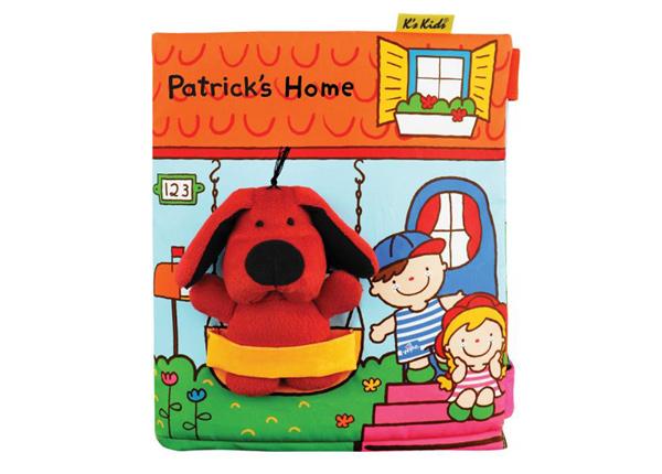 Puuhakirja Patrickin koti 3D SB-212814