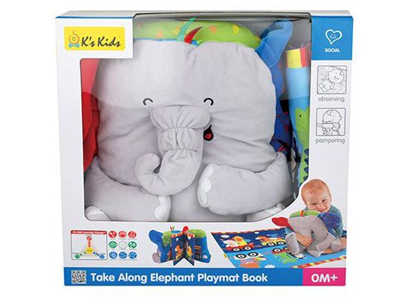 Kirja-leikkimatto Elefantti SB-212817