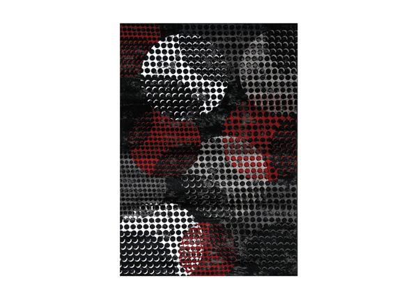 Vaip Carnegie Black Red