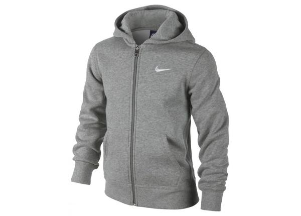 Lasten huppari Nike Brushed Fleece Full-Zip Hoodie Junior 619069-063