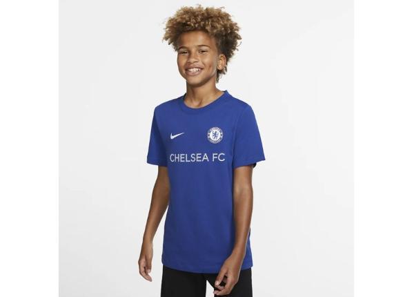 Lasten jalkapallopaita Nike Chelsea FC B Tee Core Tee Match Junior BQ0729-495