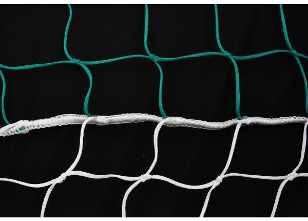 Käsipallivärava võrgud 2tk PE 0,8 / 1,0 m kardinaga