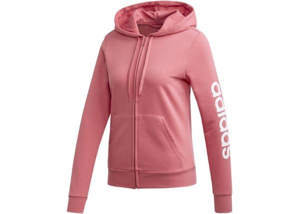 Naisten huppari Adidas W Essentials Linear FZ HD W EI0664