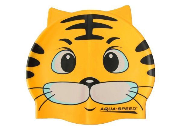 Laste Ujumismüts Aqua-Speed Silikoon ZOO Cat