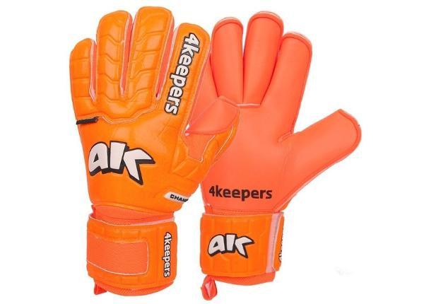Lasten maalivahdin hanskat 4Keepers Champ Colour Orange IV RF Junior S605082