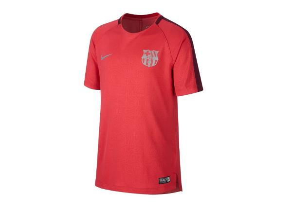Детская футболка Nike FC Barcelona Squad Top Junior 921186-691