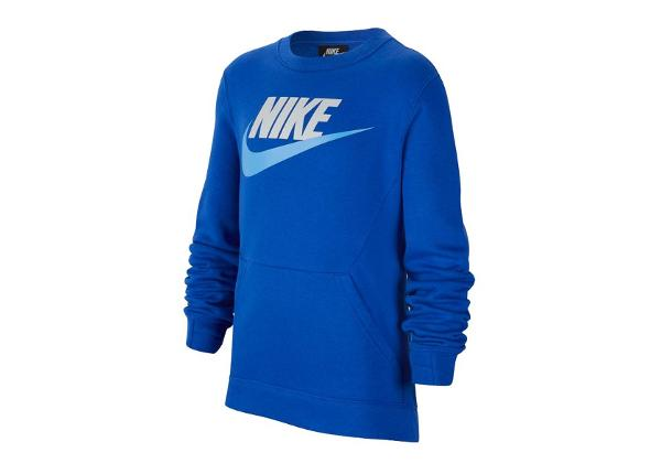 Lasten treenipaita Nike NSW Crew Club Fleece JR BV0785-480