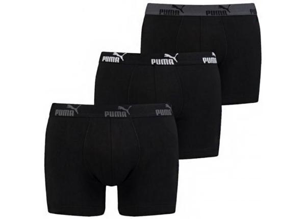 Miesten alushousut Puma Basic M Number 1 Boxer 3P 681005001 282