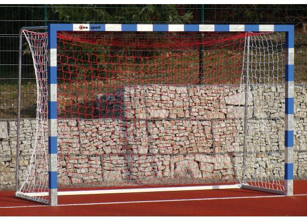 Käsipallivärav terasest välja 3,0 x 2,0 m fikseeritud
