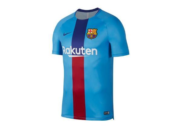 Miesten jalkapallopaita Nike FC Barcelona Squad SS GX2 M 894323-482