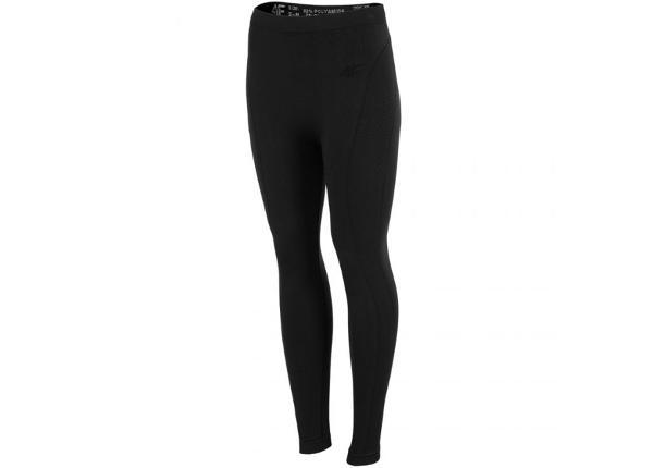 Naisten lämpimät pitkät alushousut 4F W X4Z18 BIDB351D 20S