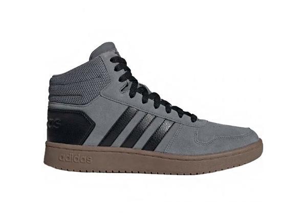 Miesten vapaa-ajan kengät Hoops 2.0 Mid M EE7367