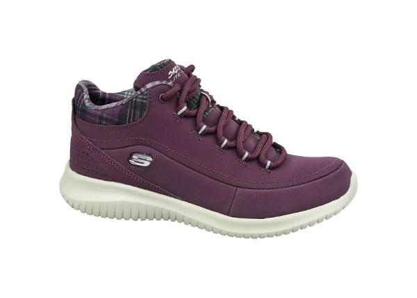 Naisten vapaa-ajan kengät Skechers Ultra Flex W 12918-BURG
