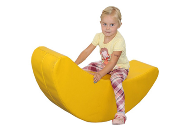 Pehmeä moduuli/ keinu Banaani