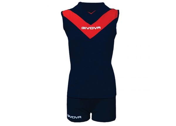 Одеждя для футбола женская Givova Kit Muro W KITV05 0412