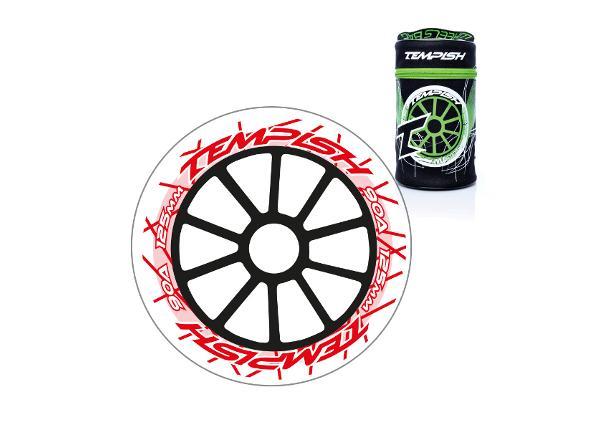 Набор колес для роликов 8 шт DTW 125x24 90A