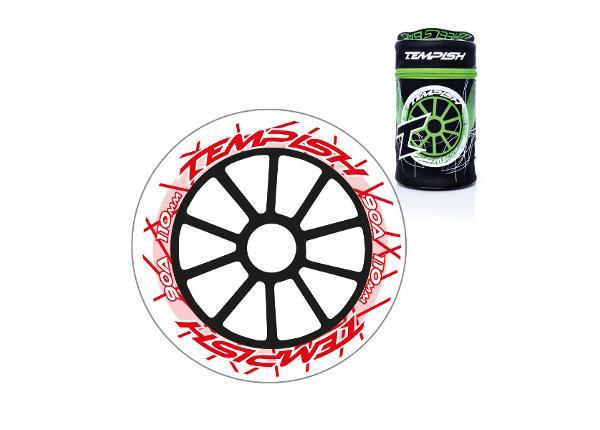 Набор колес роликовых коньков 8 шт DTW 110x24 90A
