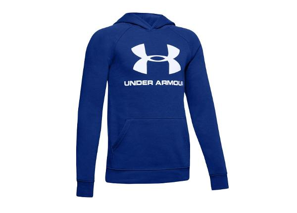 Lasten huppari Under Armour Rival Logo Hoody JR 1325328-401