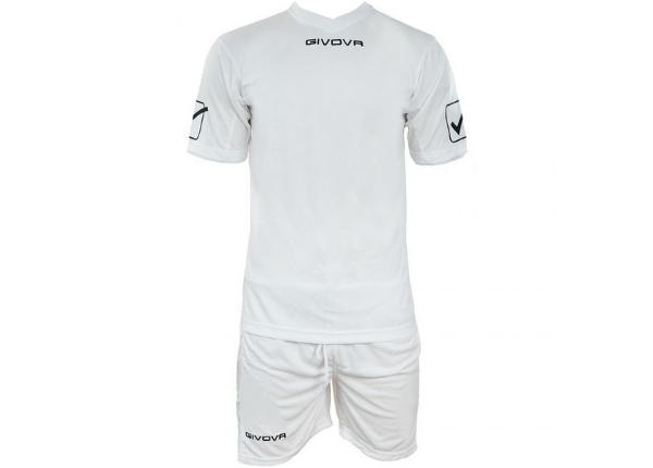 Мужская футбольная форма Givova Kit Givova biały KITC48 0003