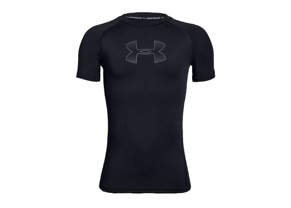 Lasten kompressiopaita Under Armour HeatGear Armour JR 1343015-004
