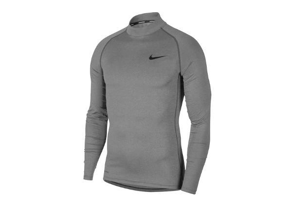 Мужская компрессионная рубашка Nike Pro Top LS Tight Mock M BV5592-085