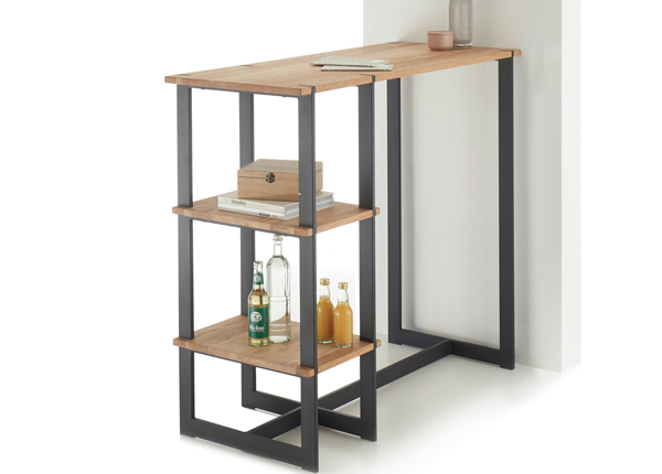 Барный стол/ консольный стол из массива дуба