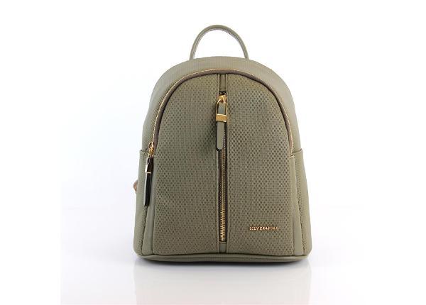 Женский рюкзак с молнией посередине Silver&Polo