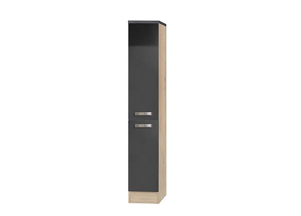 Полувысокий выдвижной кухонный шкаф Udine 30 cm