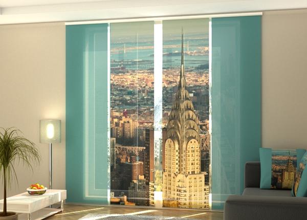 Puolipimentävä paneeliverho Chrysler Building 1 240x240 cm