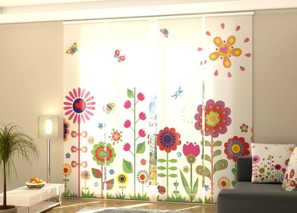 Poolpimendav paneelkardin Flowers and sun 240x240 cm ED-218098
