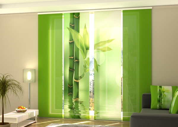 Pimendav paneelkardin Green Bamboo 240x240 cm