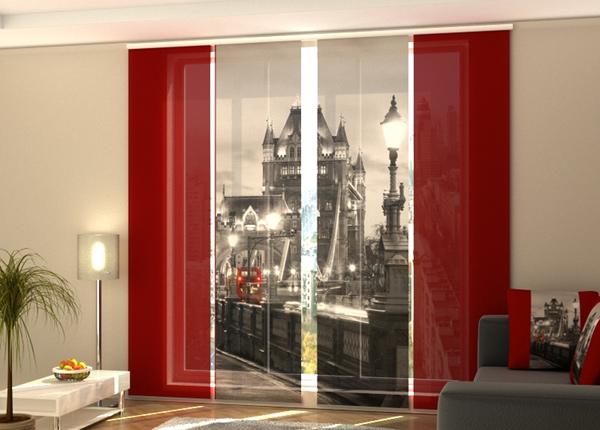 Puolipimentävä paneeliverho London 240x240 cm