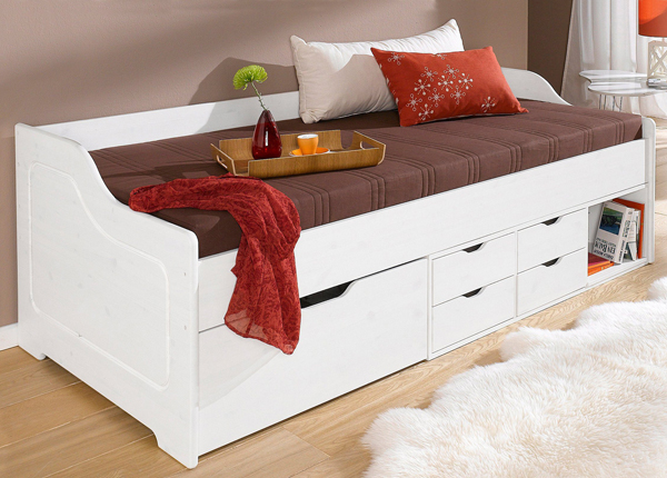 Männipuidust voodi Pelle 90x200 cm